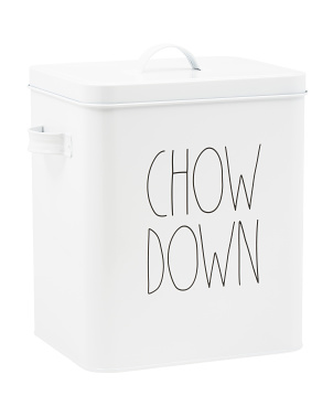 Chow Down Tin Canister