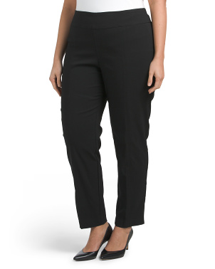 Plus Pull On Tummy Control Pants