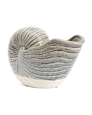 Ceramic Seashell Planter