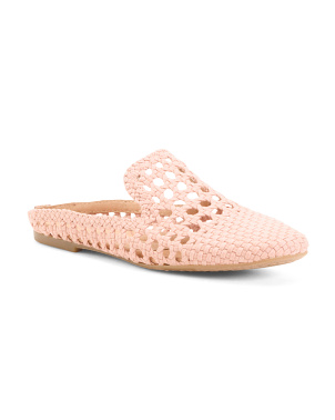 Comfort Woven Slip On Sandals