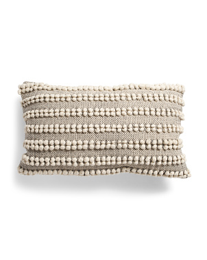 16x28 Loop Textured Pillow