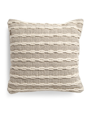 20x20 Loop Textured Pillow