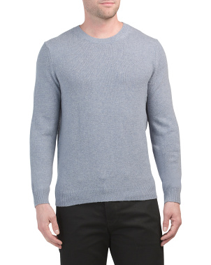 Bolton Wool Blend Crew Neck Sweater