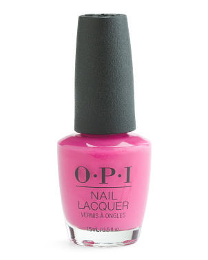 No Turning Back From Pink Street Nail Lacquer