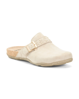 All Day Suede Comfort Clogs