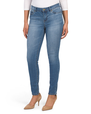 High Waisted Recycled Denim Skinny Jeans