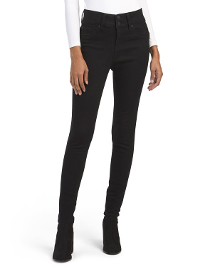High Waist Sculpting Girdle Skinny Jeans