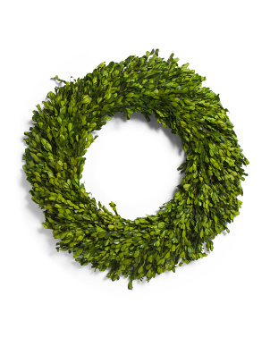20in Boxwood Wreath