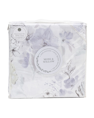 3pc Chloe Floral Duvet Set