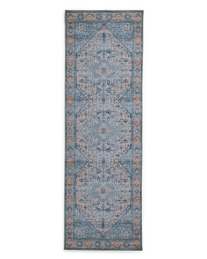 Made In Turkey 2x7 Boho Flatweave Runner