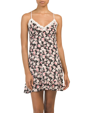 Sweet Rose Blooms Chemise
