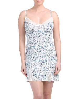 Micro Floral Chemise