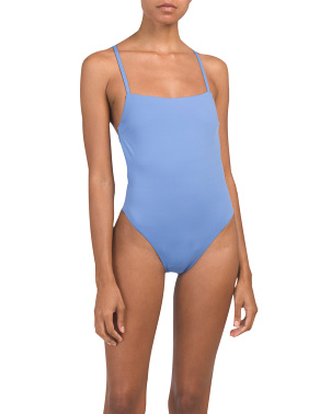 Made In Usa Edie Ecolux One-piece Swimsuit