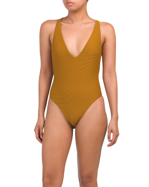 Made In Usa Alana Biorib One-piece Swimsuit