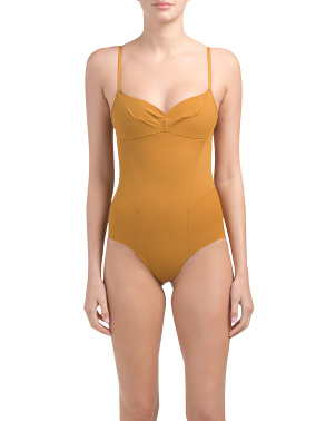 Made In Usa Odette Sculpt One-piece Swimsuit