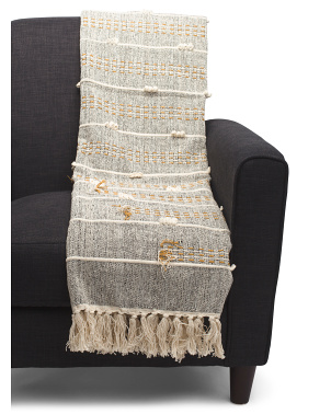 Hand Woven Stitched Throw