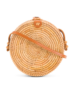 Handmade Star Rattan Bag