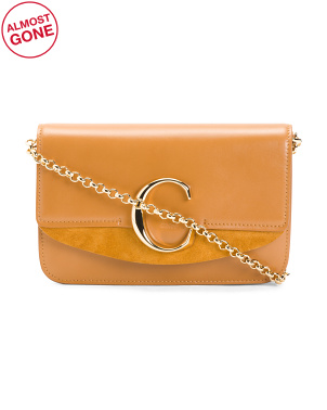 Made In Italy Leather Small Crossbody