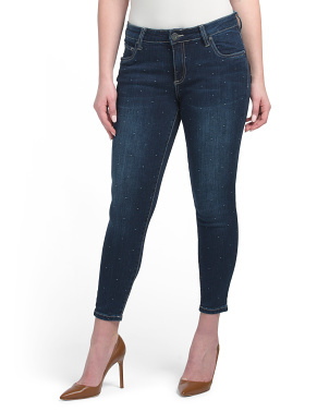 Petite Donna Ankle Skinny Jeans