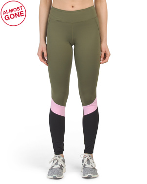 Bedela Color Block Baselayer Leggings