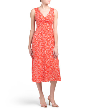Sleeveless Malia Midi Dress