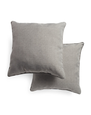 17x17 2pk Indoor Outdoor Pillows
