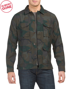 The Four Pocket Military Jacket
