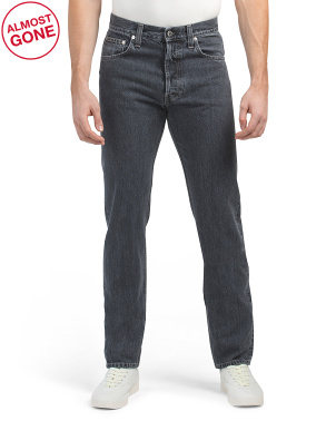 Made In Italy Straight Leg Jeans
