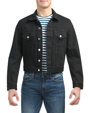 Made In Italy Masc Trucker Jacket