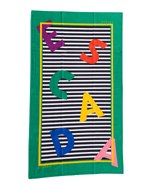 Made In Portugal Cotton Beach Towel