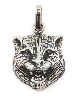 Made In Italy Sterling Silver Gatto Charm