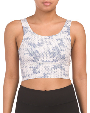 Made In Usa Elevate Digital Camo Long Bra