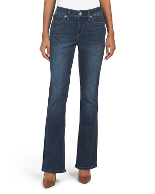 Tummy Less Slim Bootcut Jeans