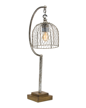 Caged Task Lamp