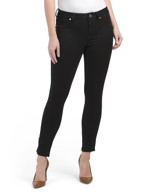 Butter Skinny Jeans With Split Seams