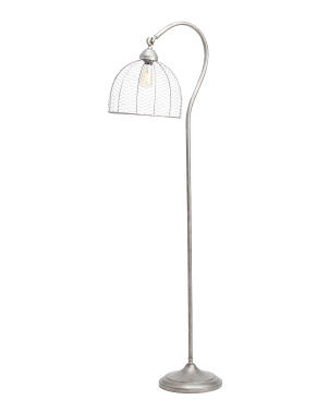 Caged Floor Lamp