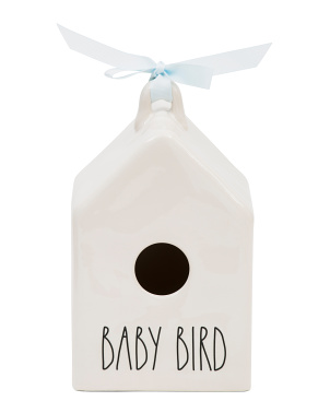 Square Baby Bird Birdhouse
