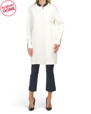 Made In Italy Bianco Latte Coat