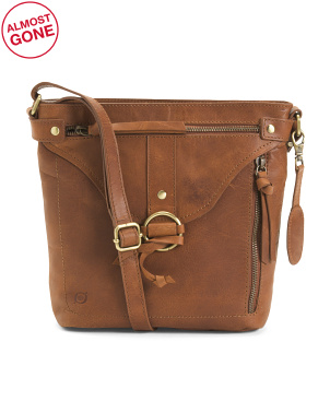 Leather Evans Crossbody