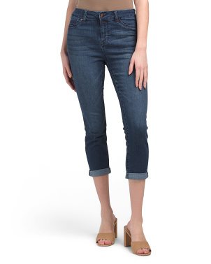 Ultra Soft Rolled Crop Jeans