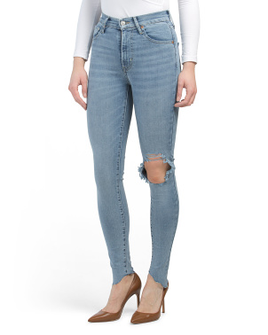 Juniors Mile High Super Skinny Bets Are Off Jeans