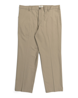 Signature Stretch Stretch Flat Front Pants