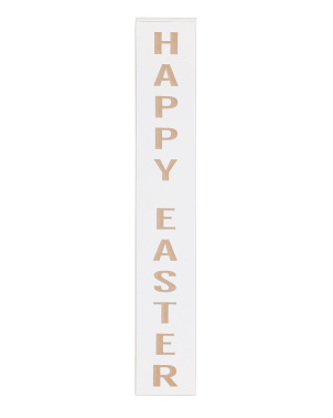 36x6 Laser Happy Easter Sign