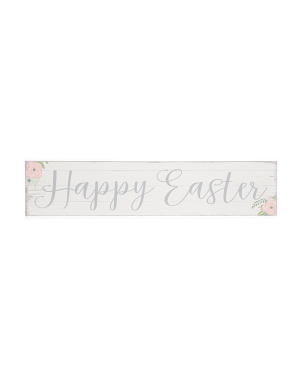 36x8 Happy Easter Sign