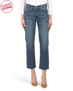Juniors High Rise Vintage Slim Jeans