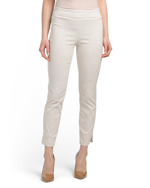 Ankle Pull On Classic Fit Skinny Leg Pants