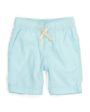 Boys Pull On Woven Shorts