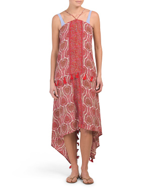 Maxi Dress Tassel Beach Cover-up