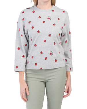 All Over Ladybirds Sweatshirt