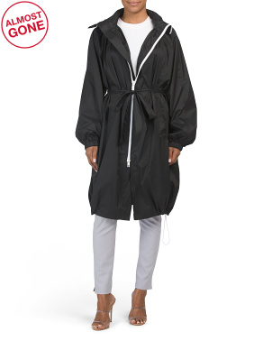 Long Outerwear Jacket
